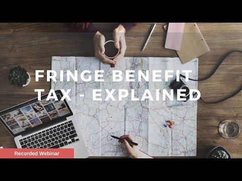 Fringe Benefits Tax (FBT) Explained