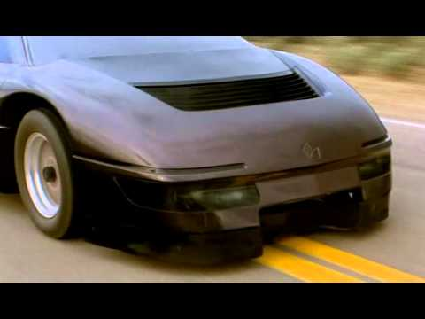 Wraith - From the movie The Wraith - Trans Am vs Dodge Turbo M4S Interceptor. The Wraith's car was based on the 1984 Dodge M4S prototype sports coupe featuring a Tran...