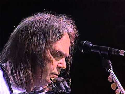 needle - Neil Young performs