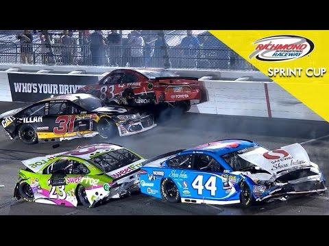 NASCAR - Accidente en Richmond