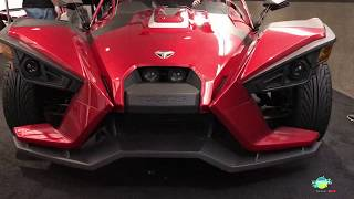 10. 2018 Polaris Slingshot SL Exterior and Interior Walkaround LA Auto Show