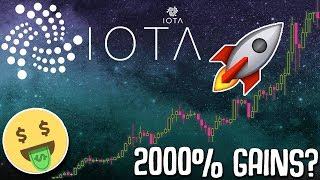 IOTA to make 2000% gains in 2018? (Should you invest?)