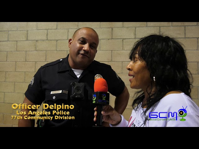 "Nobullying2020 Series,  Career Day  ""Los Angeles Police 77th Community Division""  ""Irma Garibaldi & Officer Delpino"""
