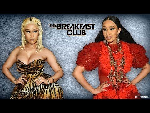 The Breakfast Club Discuss Nicki Minaj And Cardi B Fight At NYFW