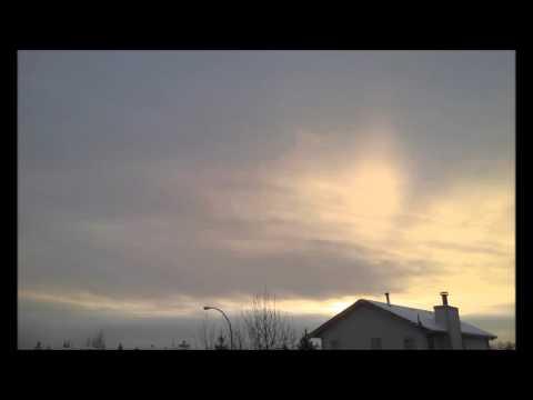 Edmonton AB Canada Sky Highlights Timelapse 2016 02 11