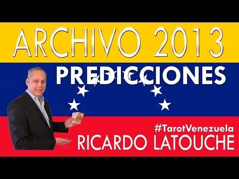 Presidenciales en Venezuela - Predicciones para Venezuela - Ricardo Latouche Tarot