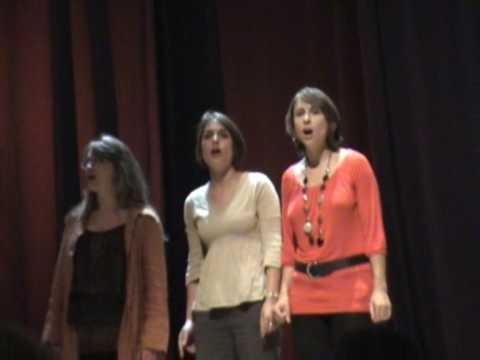 Un Mot après l'Autre (Aymeric LMG) live avec trois chanteuses