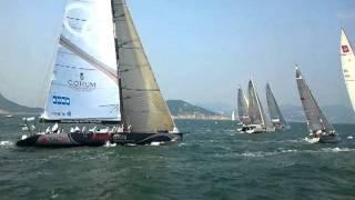 The Start - RHKYC Hong Kong to Vietnam Race 2011