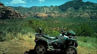 2. CF Moto C800EPS Riding The Outlaw Trail Near Sedona