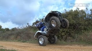 9. Essai Yamaha Grizzly 700 EPS