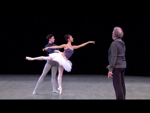 Watch: The Sleeping Beauty in rehearsal