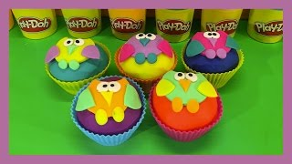 Hey there! Come join us as we reveal what toys are hiding inside our 5 owl surprise Playdoh cupcakes with surprise toys inside them.We have some Mickey Mouse Clubhouse friends hiding, maybe a Disney Pixar Cars character, also a Disney Marvel Spiderman character, Peppa Pig friends and family and a few more. It's fun, join us!😀😀😀😀😀😀😀😀😀😀   SUBSCRIBE   😀😀😀😀😀😀😀😀😀😀Like our videos? Subscribe for more every day http://bit.ly/1N2x3rU❤️💛💙💜❤️💛💙   RECOMMENDED VIDEOS   ❤️💛💙💜❤️💛💙 Disney Jigsaw Puzzles Mickey & Minnie Mouse Pluto Goofy Donald & Daisy Duck Mickey Mouse Clubhousehttps://www.youtube.com/watch?v=7nrhS7E6rwYDinosaur Finger Family Nursery Rhyme Collection Disney Pixar Good Dinosaur with Olaf from Frozen https://www.youtube.com/watch?v=dA6xxx0Ui7oThomas & Friends: Emily Vs Thomas, Percy, Diesel, Toby, James Daddy Finger Nursery Rhyme Compilationhttps://www.youtube.com/watch?v=ZvCLZF-qnwUMickey Mouse Clubhouse Explore - Mickey Mouse Clubhouse Finger Family Children's Nursery Rhymeshttps://www.youtube.com/watch?v=dKngRJqRQXkDinosaur Finger Family Nursery Rhyme Collection Disney Pixar Good Dinosaur Big Hero 6 Hiro Baymaxhttps://www.youtube.com/watch?v=ZtajLzx5NUw