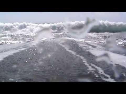ИСПАНИЯ: черный пляж Пуэрто Наос на Ла Пальма... Канарские острова Рuеrто Nаоs bеасh - DomaVideo.Ru