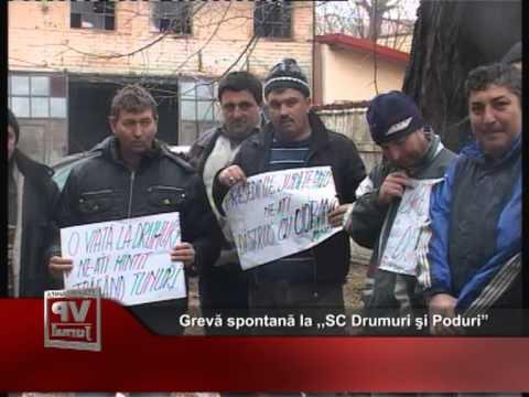 """Grevă spontană la ,,SC Drumuri şi Poduri"""""""