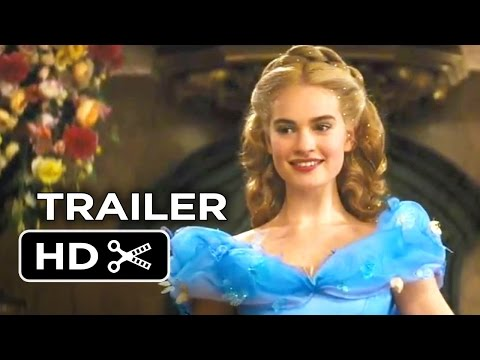 Cinderella Official Trailer #1 (2015) – Helena Bonham Carter, Lily James Disney Movie HD