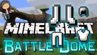 Minecraft: BATTLE-DOME Mini-Game w/Mitch&Friends! Part 2 - NO ENCHANTS BATTLE PHASE!