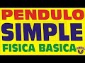 PENDULO SIMPLE-CONCEPTO