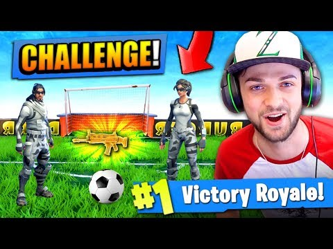 Video The FOOTBALL CHALLENGE in Fortnite: Battle Royale! download in MP3, 3GP, MP4, WEBM, AVI, FLV January 2017