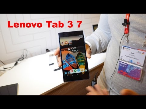 Lenovo Tab 3 7 Hands on