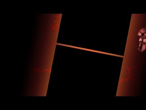Photoshop Tutorial   YouTube – Kanal – Design erstellen  + Free Template  – MrYouHelp