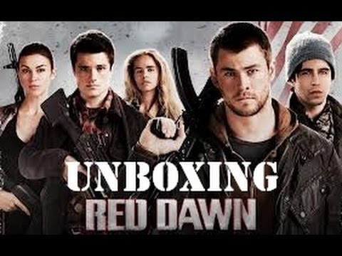 Red Dawn (2012) Bluray Unboxing (Chris Hemsworth Movie)