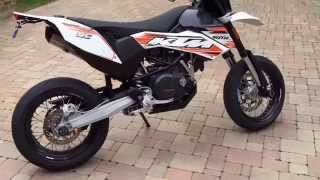 3. 2010 KTM 690 SMC Cold Start Walk Around