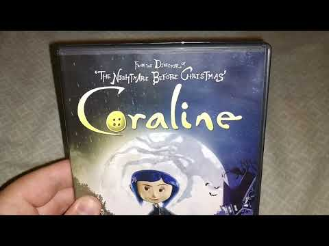 My DVD of Coraline DVD from 2009