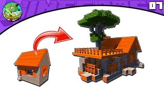Minecraft: How to Transform an Acacia Village LIBRARY