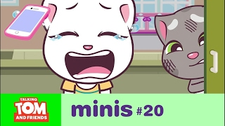 Talking Tom and Friends Minis - Angela's Lost Phone (Episode 20)
