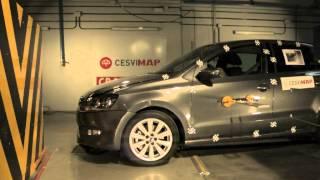 Crash Test delantero VW Polo