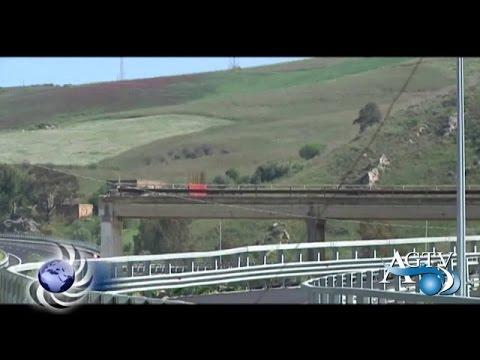 Ponte Petrusa chiuso ad Agrigento