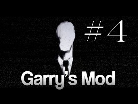Garry's Mod #4. Лесной Слэндер. Алекс, Паук, EASYNICK.