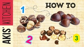 How to bake chestnuts | Akis Kitchen by Akis Kitchen