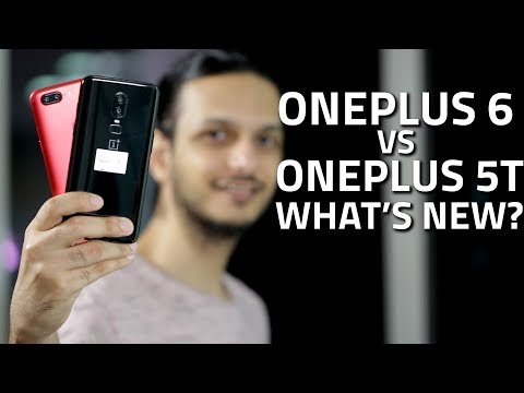 OnePlus 6 vs OnePlus 5T: What's New and Different (видео)