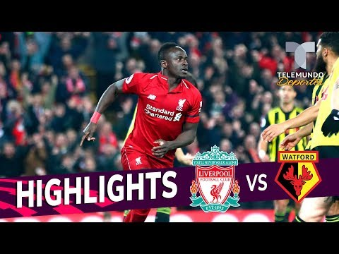 Liverpool Vs. Watford: 5-0 Goals & Highlights | Premier League | Telemundo Deportes
