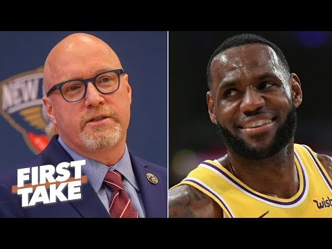 Video: David Griffin should focus on the Pelicans, not his past with LeBron - Max Kellerman | First Take