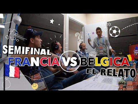 La semifinal con Dr. García, Martinoli, Valdano y Campos 'Vive la France'