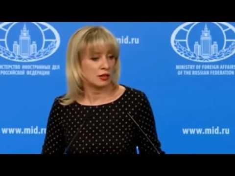 Мария Захарова прокомментировала желание Собчак посетить Крым через Украину!