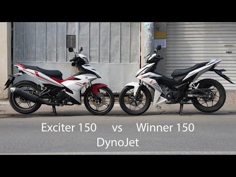Kết quả DynoJet của Winner 150 và Exciter 150