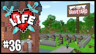 I BUILT THE X LIFE GRAVEYARD.. | Minecraft X Life SMP | #36