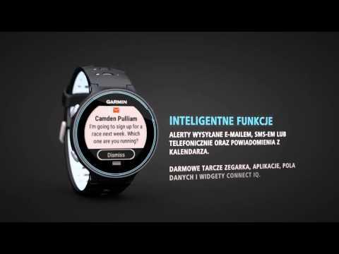 Zegarek sportowy z GPS GARMIN Forerunner 630 HRM Granatowy