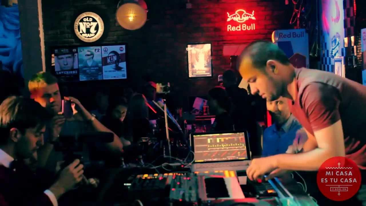 KiNK - KiNK live @ Mi Casa Es Tu Casa party. F2 club. Rostov Russia.