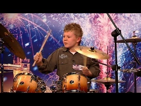 Gaffney - Britain's Got Talent: 12-year-old Kieran can't wait to show the judges his musical skills - but has he got what it takes to win over the judges?