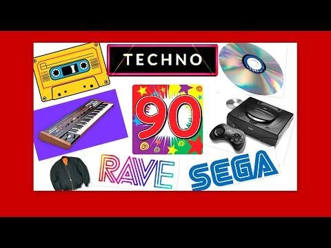 90s 💝 GENERATION (Techno - Rave - Sega) ☼ (видео)