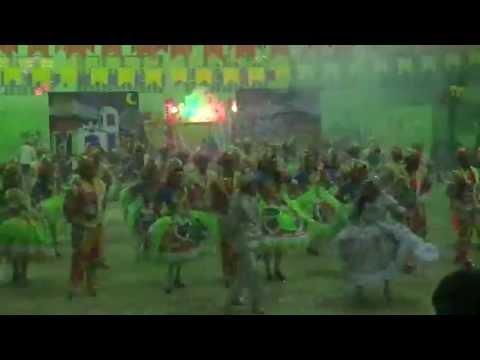 Dança Nordeste 2013 - campeã do 1º Fest'Eloi