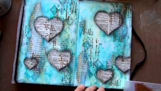 Art Journal page - Life On Hold - YouTube