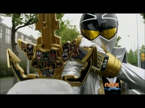 six - Super Mega Gold Transformation This scene is from Power Rangers Super Megaforce