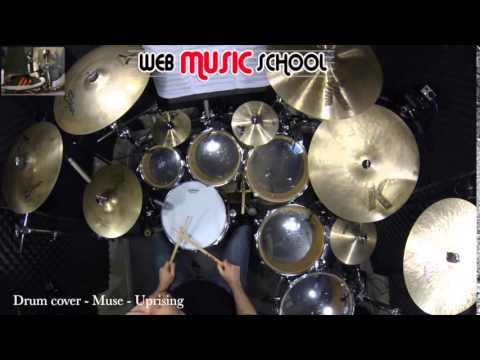 Muse - Uprising - DRUM COVER