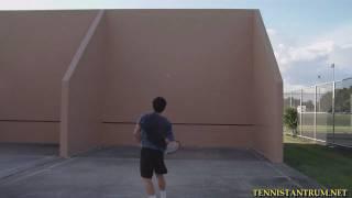 Tennis Highlights, Video - Tennis Overhead Drill