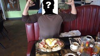 FwF Ep. 7 Randy Santel ? Big Breakfast Challenge x 3 Food Challenge!!!